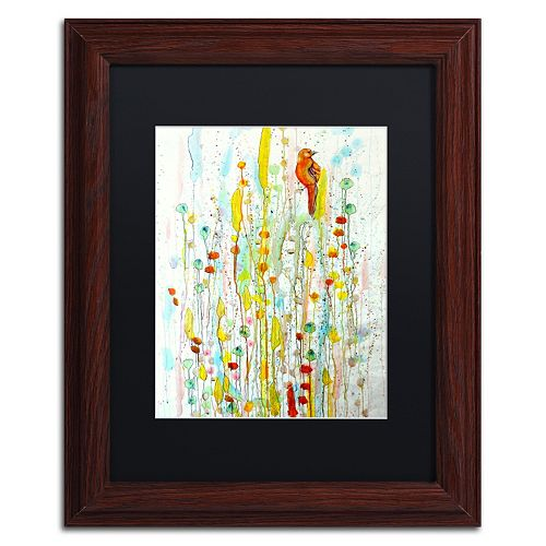Trademark Fine Art Pause Framed Wall Art