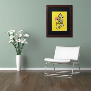 Trademark Fine Art Tanto Tiempo Framed Wall Art