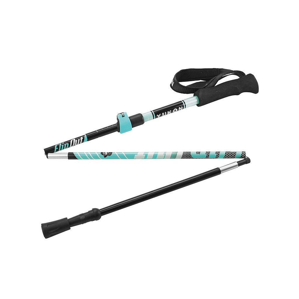 Yukon Charlie's Flip Out Collapsible Aluminum Trekking Poles