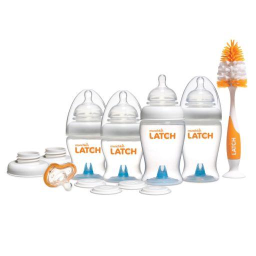 Munchkin LATCH 15 Piece Newborn Bottle Gift Set