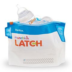Munchkin Latch 6 pkSterilizer Bags