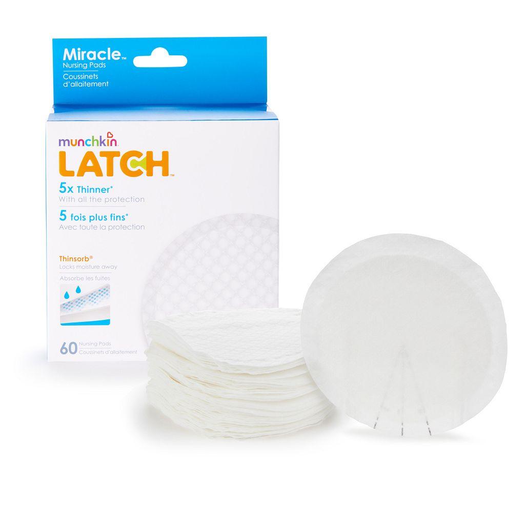 Munchkin Latch 60-pk. Miracle Nursing Pads