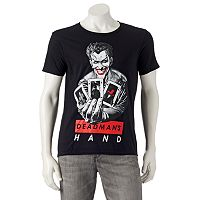 Men's DC Comics The Joker Cards Tee