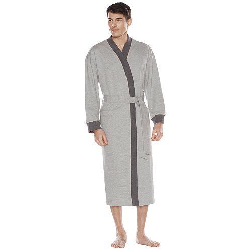 Men's Residence French Terry Kimono Robe