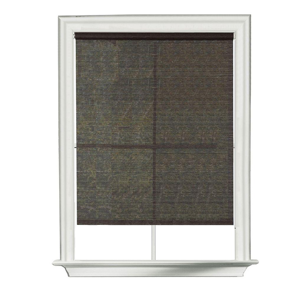 Tuxedo Indoor Outdoor Light Filtering Roller Shades