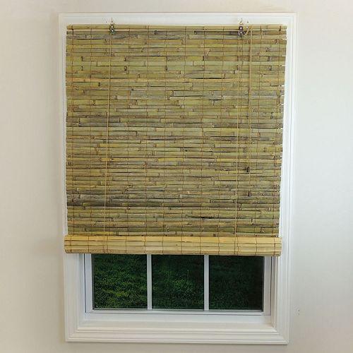 Radiance Laguna Woven Bamboo Indoor Outdoor Roll-Up Shade