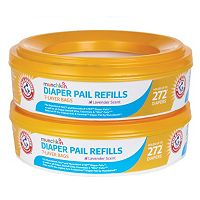 Arm & Hammer 2 pkDiaper Pail Refill Ring Bags by Munchkin