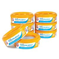 Arm & Hammer 8 pkDiaper Pail Refill Ring Bags by Munchkin