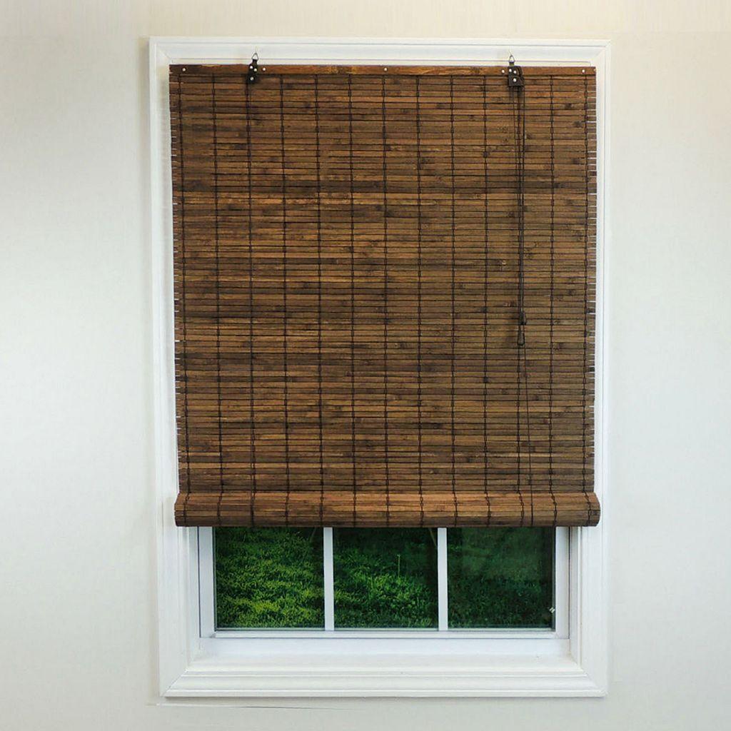 Radiance Venezia Flatstick Woven Bamboo Roll-Up Shade