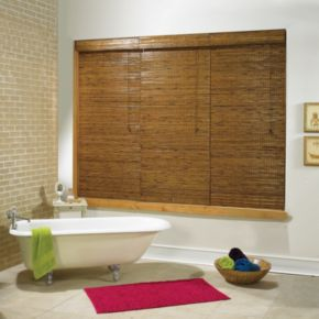 Radiance Earthwise Tobermory Bamboo Roman Shades