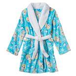 Disney's Frozen Elsa Girls 4-10 Bath Robe