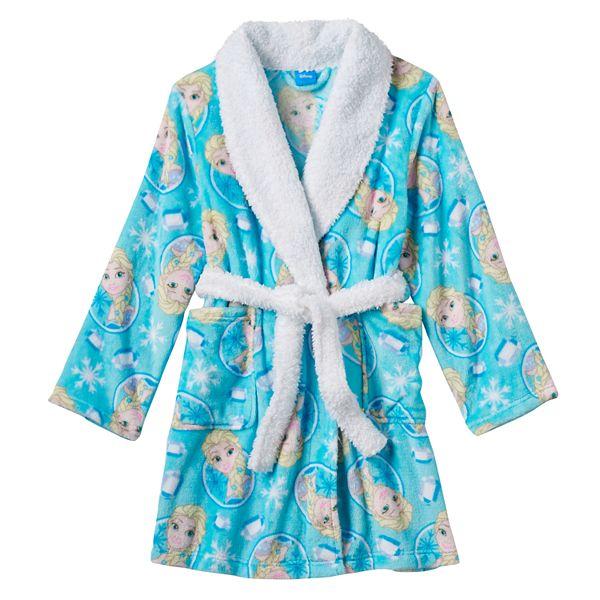 Disney S Frozen Elsa Girls 4 10 Bath Robe