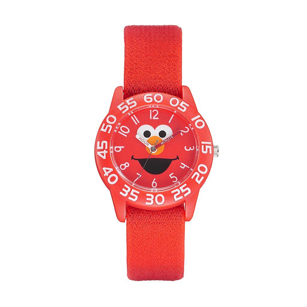 Sesame Street Elmo Kids' Time Teacher Watch