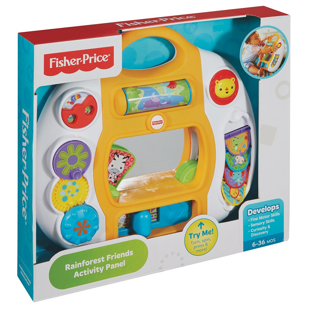 Fisher-Price Rainforest Friends Activity Panel