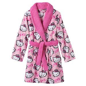 Girls 4-10 Hello Kitty® Fleece Bath Robe