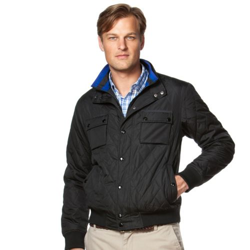 Men's Chaps Classic-Fit Quilted Jacket