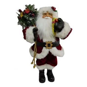 Traditional 18.5-in. Santa Figurine Table Decor