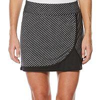Women's Grand Slam Performance Stripe Print Golf Skort
