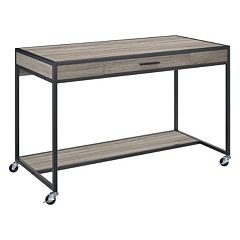 Altra Mason Ridge Oak Mobile Desk