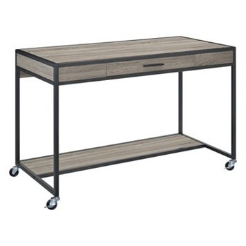 Altra Mason Ridge Oak Mobile Desk