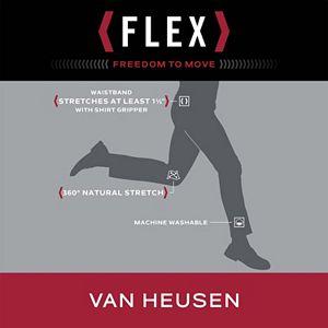 Men's Van Heusen Flex Straight-Fit No-Iron Dress Pants