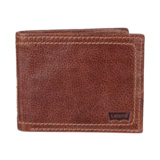 Men's Levi's® Genuine Leather Traveler Wallet