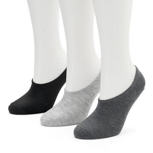 Women's Converse Made For Chucks 3-pk. Logo Basic No-Show Socks