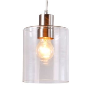 Catalina Clear Glass Pendant Lamp