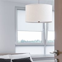 Catalina 3-Light Brushed Nickel Finish Pendant Lamp