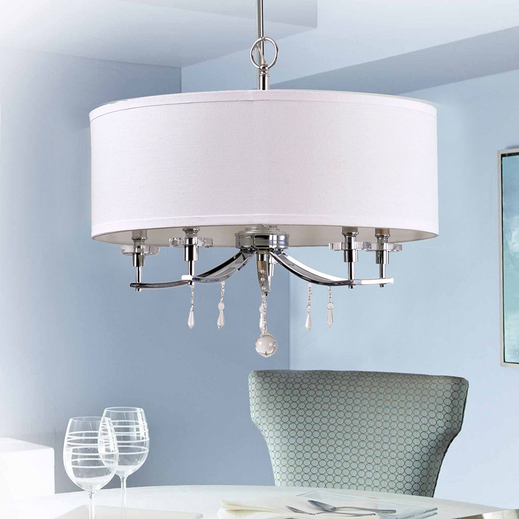 Catalina 5-Light Crystal Accents Chandelier