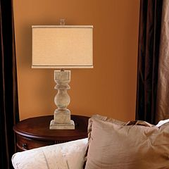 Catalina Distressed Table Lamp