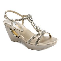 Andrew Geller Allisandra Women's Wedge Sandals