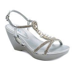 Andrew Geller Allisandra Women's Wedge Sandals