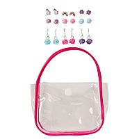 Girls 4-16 9-pk. Earring Variety Set