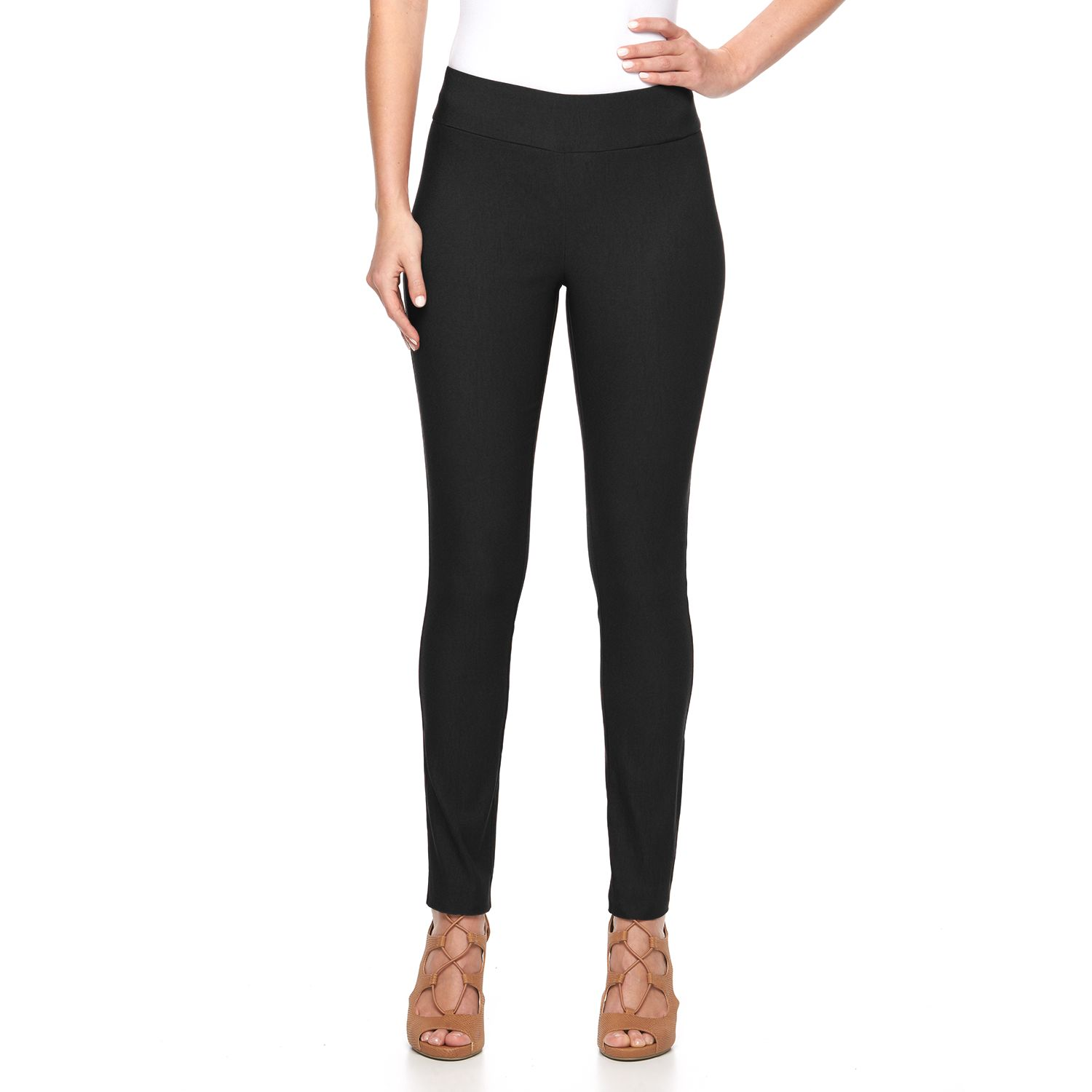 Black Skinny Dress Pants Women