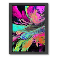Americanflat A Cosmic Journey Abstract Framed Wall Art