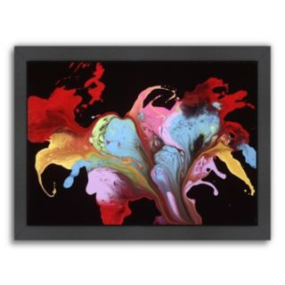 Americanflat Bliss Abstract Framed Wall Art