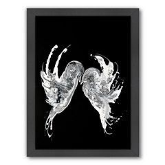 Americanflat Embrace Abstract Framed Wall Art