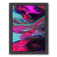 Americanflat Enchantment Abstract Framed Wall Art