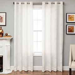 Softline 1-Panel Willow Medallion Window Curtain