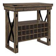 Altra Wildwood Bar Cabinet
