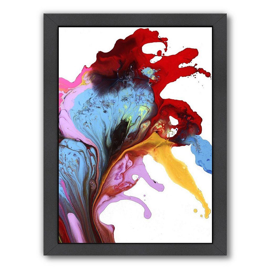 Americanflat Heart of a Dreamer Abstract Framed Wall Art