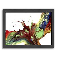Americanflat If I was a Bird Abstract Framed Wall Art