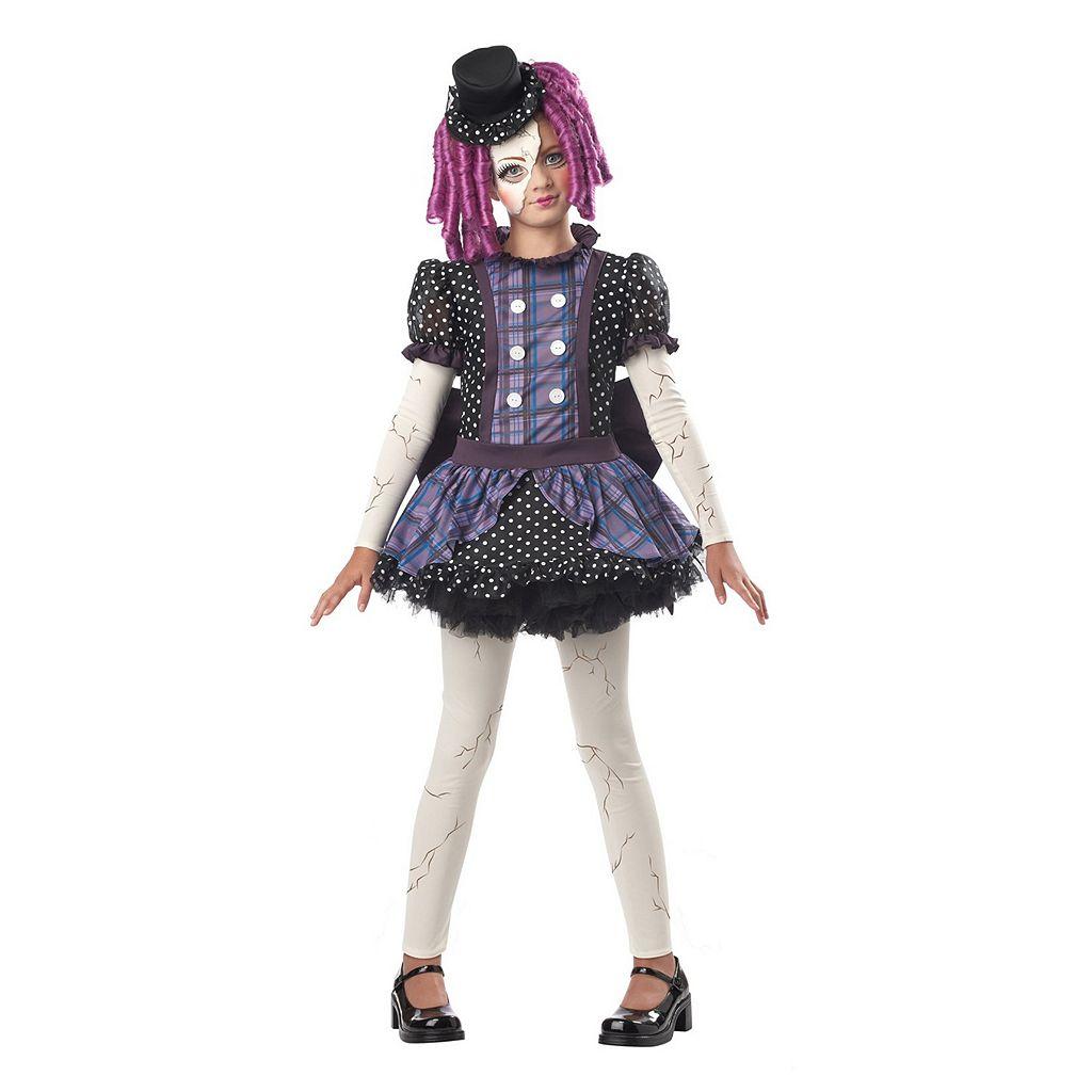 Kids Broken Doll Costume