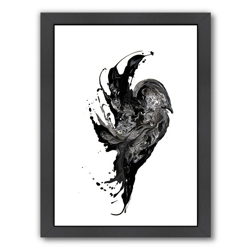Americanflat On Soul B Abstract Framed Wall Art