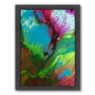 Americanflat Raw Emotion Abstract Framed Wall Art