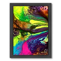 Americanflat Raw Energy Abstract Framed Wall Art