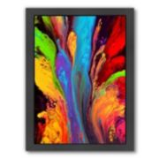 Americanflat Reaching for Heaven Abstract Framed Wall Art