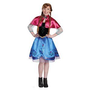 Disney's Frozen Anna Traveling Gown Tween Costume