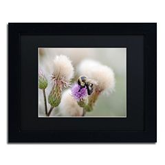Trademark Fine Art Defeated Black Framed Wall Art